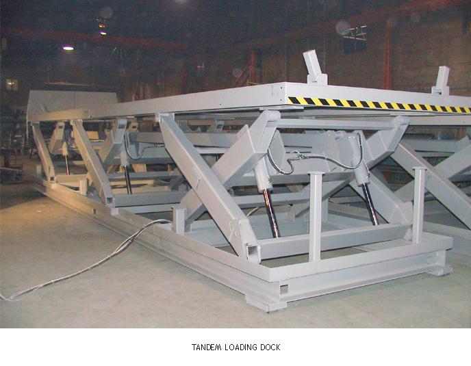Tandem Loading Dock