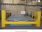 Scissor Lift with Safety Railing